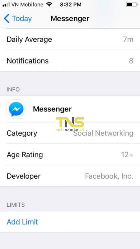 limit apps ios 12 4 450x800 - Cách khoá một ứng dụng bất kỳ trên iOS 12 không cần jailbreak