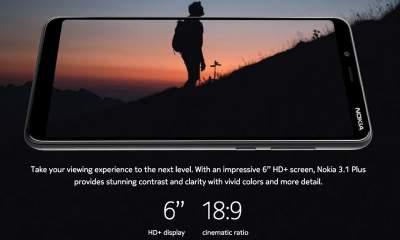 nokia 3.1 plus featured 400x240 - Nokia 3.1 Plus ra mắt tại Ấn Độ, giá 3,6 triệu đồng