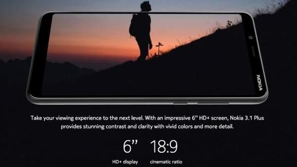 nokia 3.1 plus featured 600x338 - Nokia 3.1 Plus ra mắt tại Ấn Độ, giá 3,6 triệu đồng