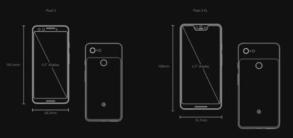 pixel 3 pixel 3 xl chinh thuc 2 600x283 - Google công bố Pixel 3 và 3 XL: bảo mật hơn, màn hình lớn hơn, camera tốt hơn
