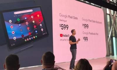 pixel slate tablet chrome os featured 400x240 - Google ra mắt Pixel Slate: máy tính bảng chạy Chrome OS, trang bị vi xử lý Intel thế hệ thứ 8