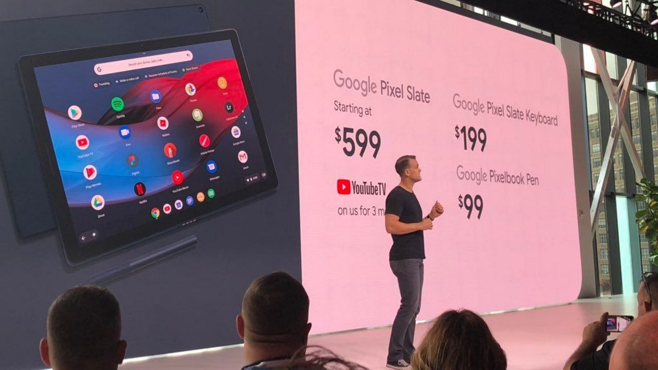 pixel slate tablet chrome os featured - Google ra mắt Pixel Slate: máy tính bảng chạy Chrome OS, trang bị vi xử lý Intel thế hệ thứ 8