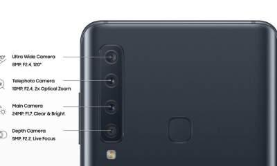 samsung galaxy a9 quad camera featured 400x240 - Rò rỉ hình ảnh điện thoại Galaxy A9 có 4 camera ở mặt sau