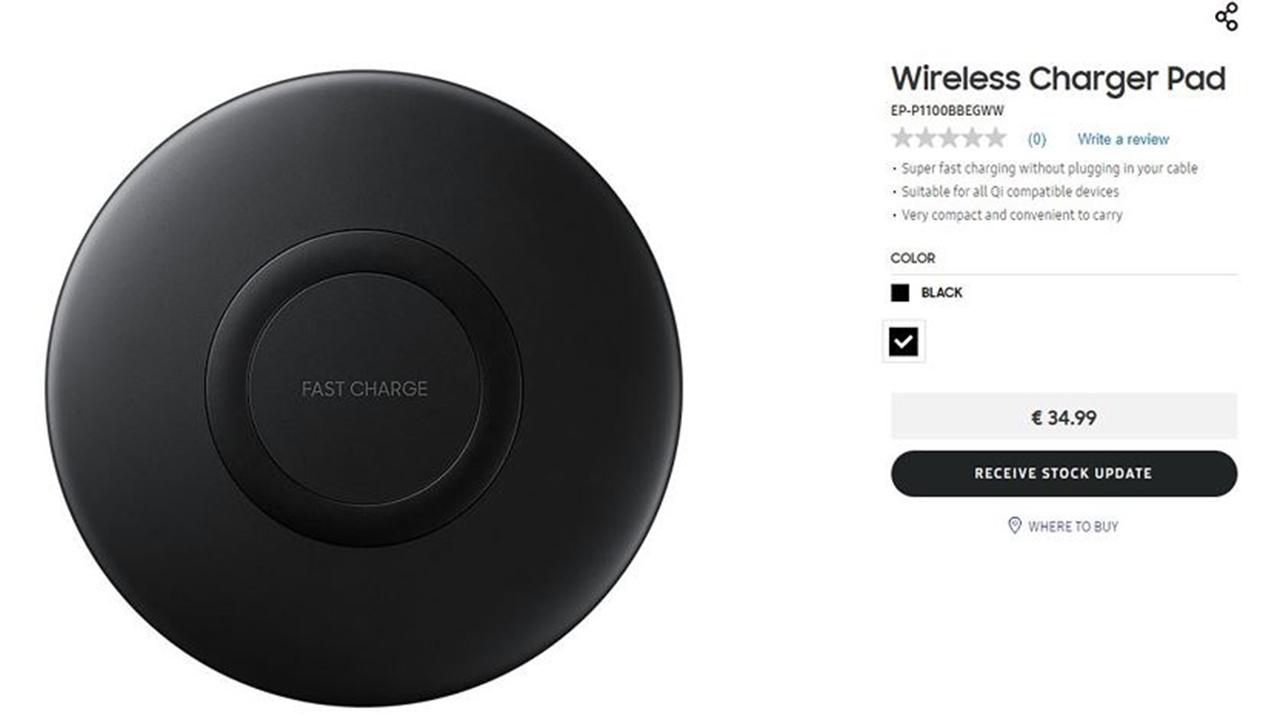 samsung wireless charger - Samsung sắp ra mắt sạc không dây giá rẻ