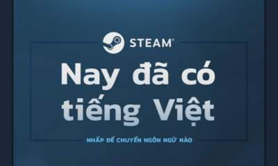 Steam giao diện tiếng Việt