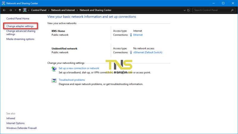 windows 10 network problem 2 800x451 - Cách sửa lỗi ứng dụng không kết nối được internet trên Windows 10 build 1803