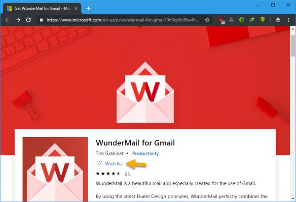 Microsoft Store đã cho phép lưu ứng dụng UWP yêu thích 2