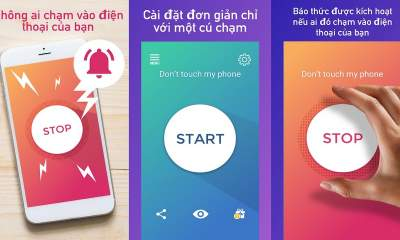 Dont Touch My Phone featured 400x240 - Ngăn mất cắp, dùng điện thoại Android trái phép với Don't Touch My Phone
