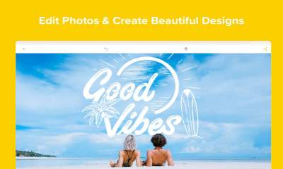 Over Edit Add Text to Photos featured 400x240 - Thiết kế logo, biểu ngữ, thiệp mời, Instagram Story,… trên Android