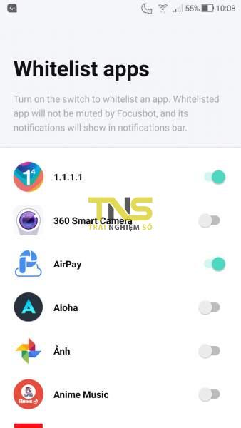 Screenshot 20181130 100856 338x600 - Focusbot: Ẩn thông báo, tự trả lời khi có cuộc gọi, tin nhắn