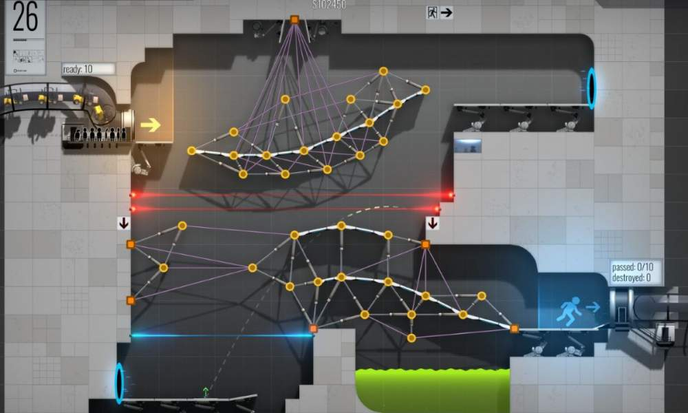 Bridge Constructor Portal game review