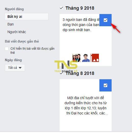 delete more posts facebook 2 - Cách xóa cùng lúc nhiều bài viết trên Facebook nhanh nhất