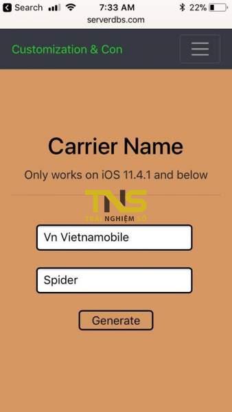 doi ten nha mang iphone 2 338x600 - Cách đổi tên nhà mạng trên iPhone không cần jailbreak