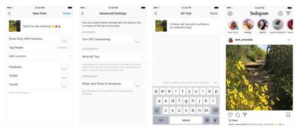 Instagram sử dụng công nghệ AI để mô tả hình cho người khiếm thị