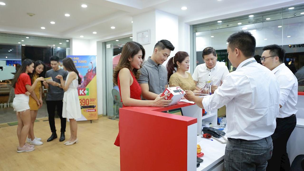 k - K+ khuyến mại cho thuê bao đăng ký mới