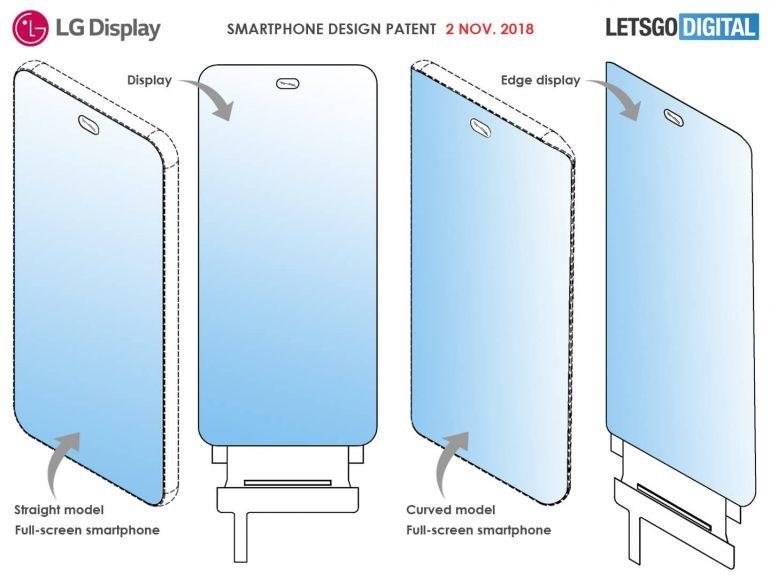 lg patents full screen smartphone with under display camera 523643 2 - LG đăng ký bằng sáng chế gắn máy ảnh selfie ẩn dưới màn hình