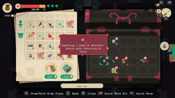 moonlighter switch screenshot 2 600x338 - Đánh giá game Moonlighter phiên bản Switch