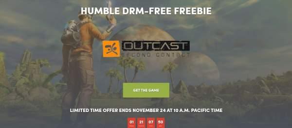 outcast second contact free humble store 2 600x264 - Nhanh tay tải về game phiêu lưu hành động thế giới mở Outcast - Second Contact đang miễn phí 48 tiếng