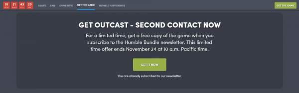 outcast second contact free humble store 3 600x187 - Nhanh tay tải về game phiêu lưu hành động thế giới mở Outcast - Second Contact đang miễn phí 48 tiếng