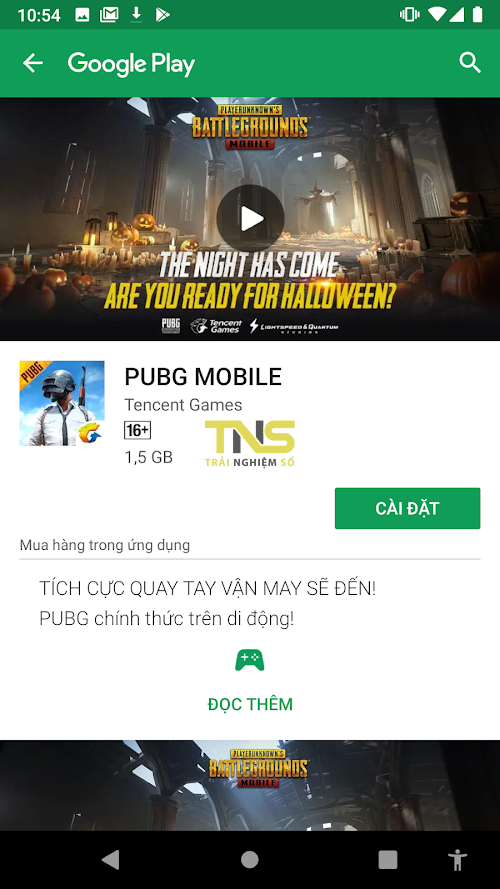Cách tải bản PUBG Mobile quốc tế sau khi bị xóa khỏi store 1
