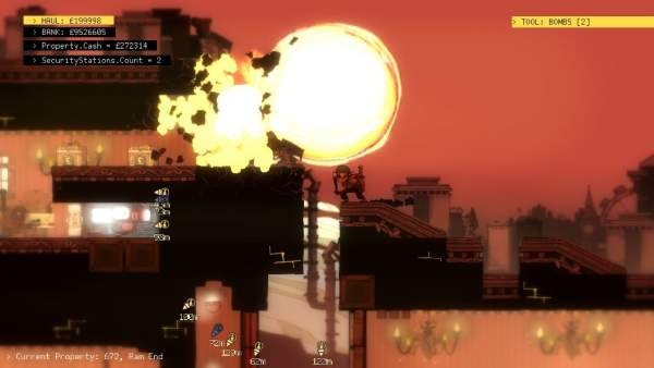 "the swindle screenshot 3 600x338 - Đánh giá game The Swindle - 100 ngày làm ""siêu trộm"""