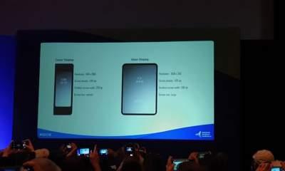 thiet bi gap Samsung 400x240 - Samsung giới thiệu thiết bị gập thông minh bỏ túi