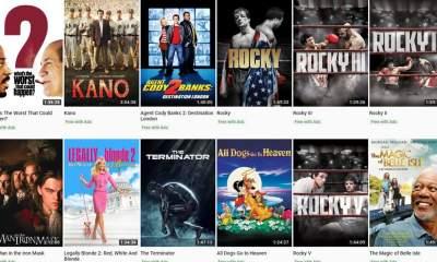 youtube 100 free film featured 400x240 - Danh sách và cách xem 100 phim miễn phí trên YouTube