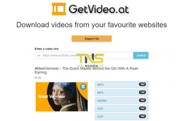 Tổng hợp 17 trang web thay thế KeepVid để tải nhạc, video YouTube 21