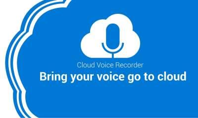 Cloud Voice Recorder featured 400x240 - Ghi âm miễn phí, đồng bộ tự động lên Google Drive trên Windows 10