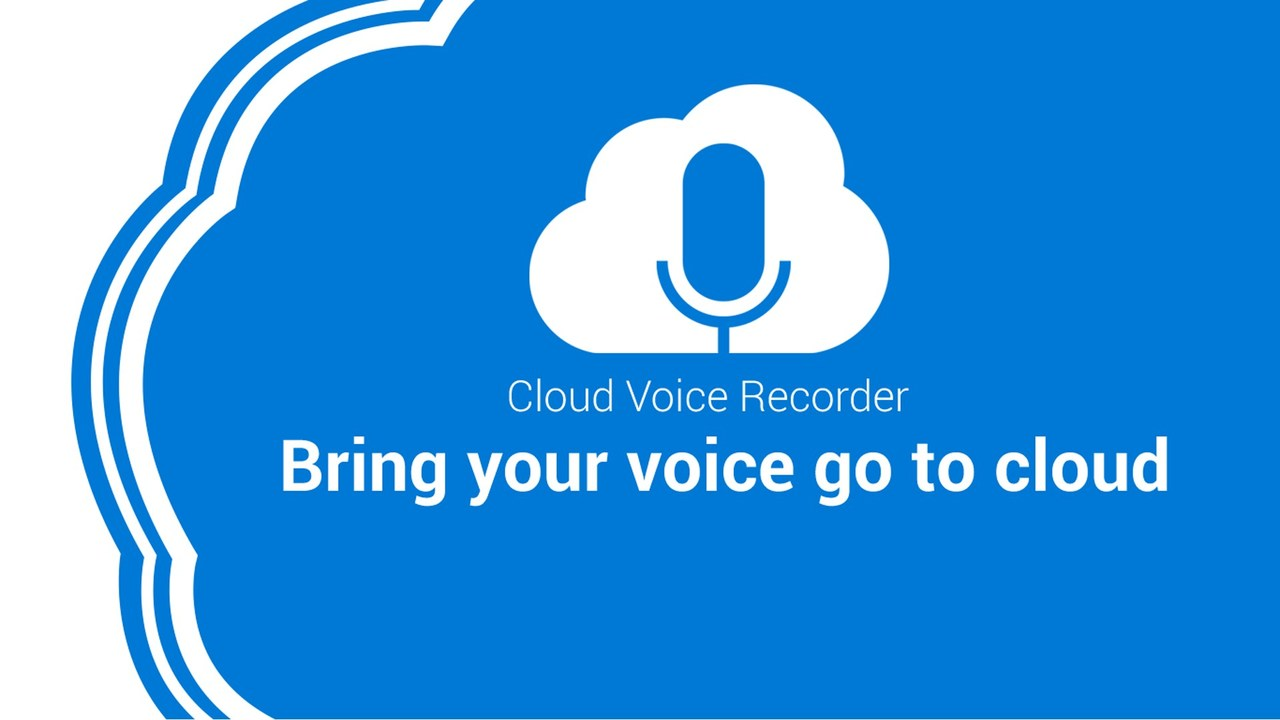 Cloud Voice Recorder featured - Ghi âm miễn phí, đồng bộ tự động lên Google Drive trên Windows 10