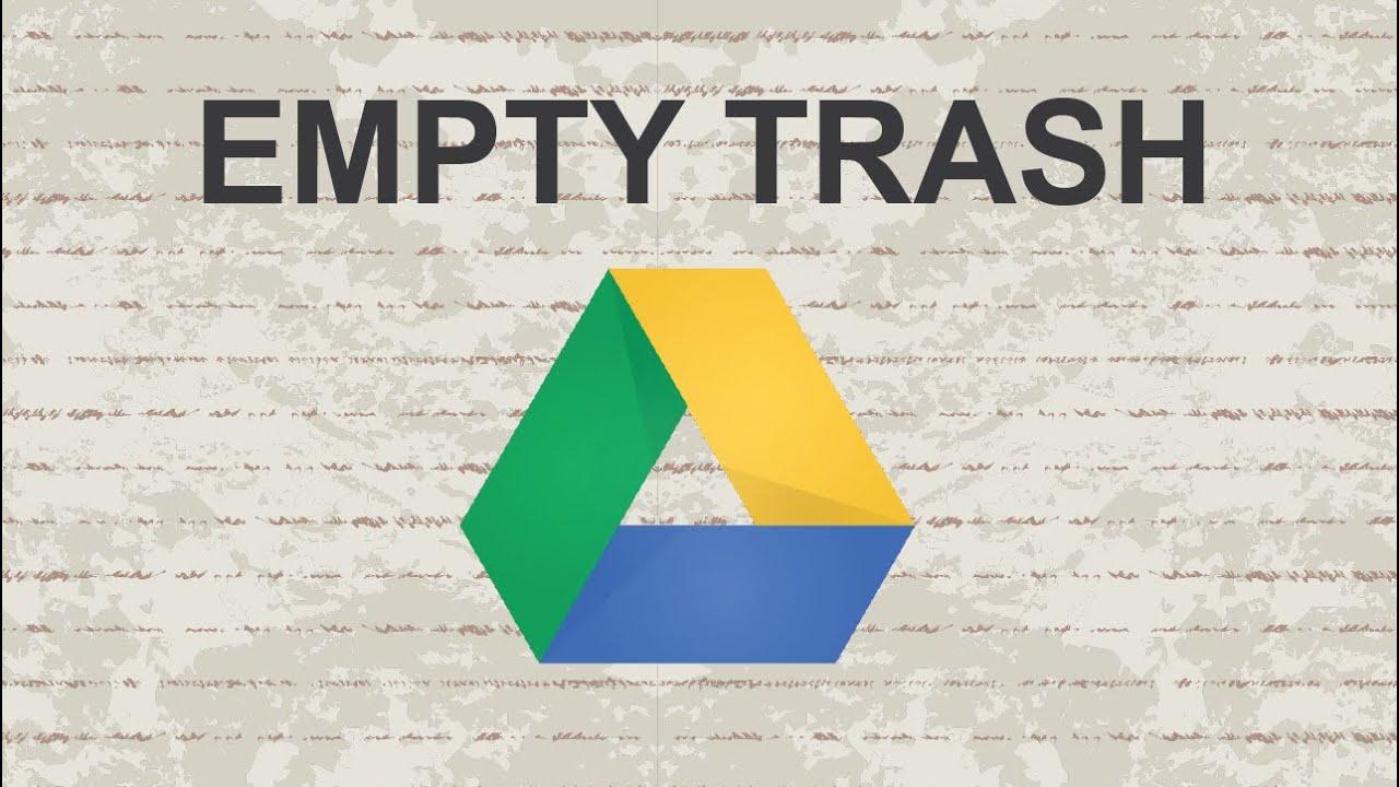 EmptyTrash GDrive featured - Xóa file trong thùng rác Google Drive tự động hàng ngày