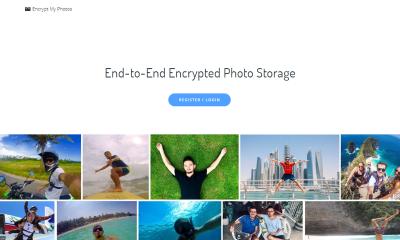 Encrypt My Photos featured 400x240 - Dùng thử Encrypt My Photos, ứng dụng web lưu trữ ảnh mã hóa theo E2E