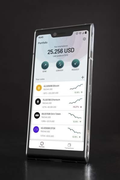 Finney 398x600 - Finney: Smartphone Blockchain đầu tiên đã lên kệ
