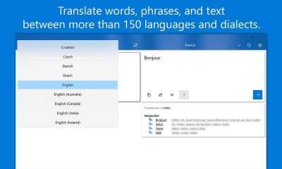 Lingua Translate featured 400x240 - Lingua Translate: Ứng dụng dịch thuật 4,99$ đang miễn phí trên Windows 10