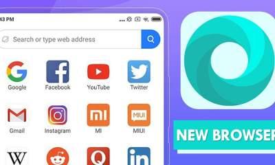 New Web Browser Of Xiaomi 400x240 - Thêm trình duyệt Mint Browser dành cho Android, người dùng có thể tải miễn phí