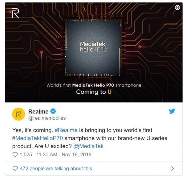 Realme Mediatek 600x567 - Realme U1: Smartphone đánh dấu hợp tác chiến lược MediaTek và Realme