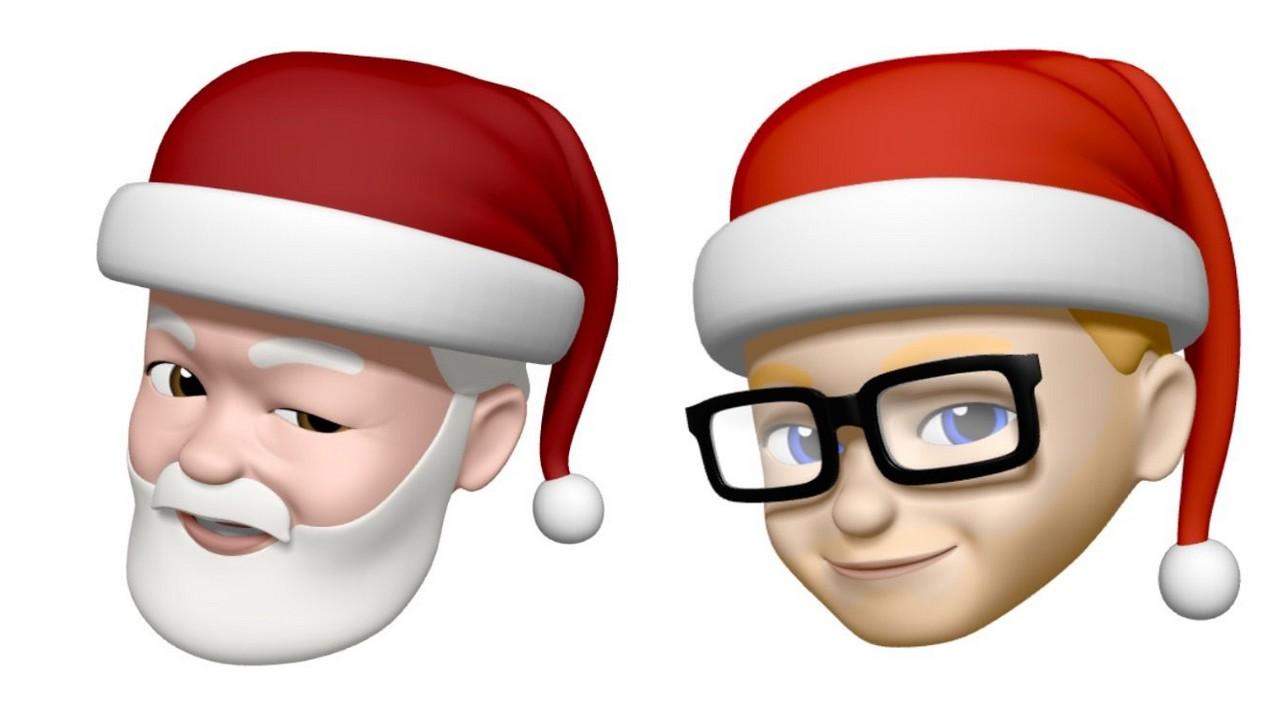 Santa Memoji featured - Cách tạo khuôn mặt Ông già Noel trên iPhone