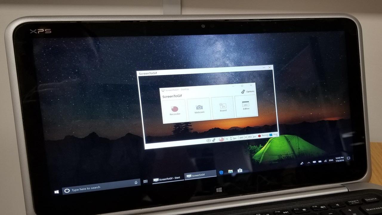ScreenToGif featured - Quay màn hình desktop, webcam và trích xuất ra ảnh động, video, PSD,...
