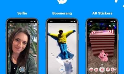 facebook messenger boomerang selfie featured 400x240 - Facebook Messenger thêm chế độ chụp xóa phông, Boomerang,...