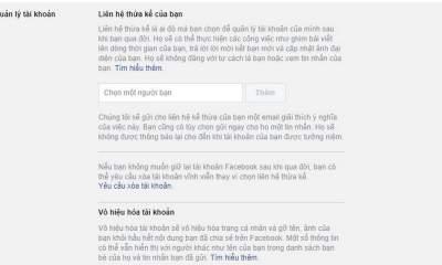 """facebook thua ke featured 400x240 - Trò mới: """"RIP"""" tài khoản Facebook bằng giấy chứng tử, cáo phó giả"""