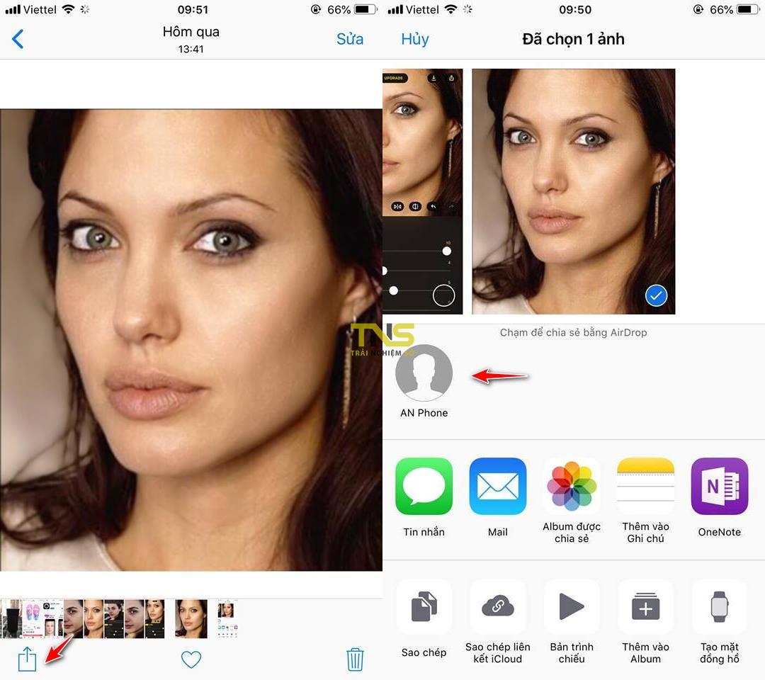 Cơ bản: cách gửi ảnh từ iPhone qua iPhone đơn giản nhất 2