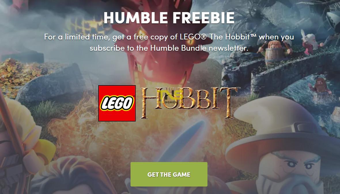 humble lego 1 - Đang miễn phí game LEGO® The Hobbit trị giá 188.000đ