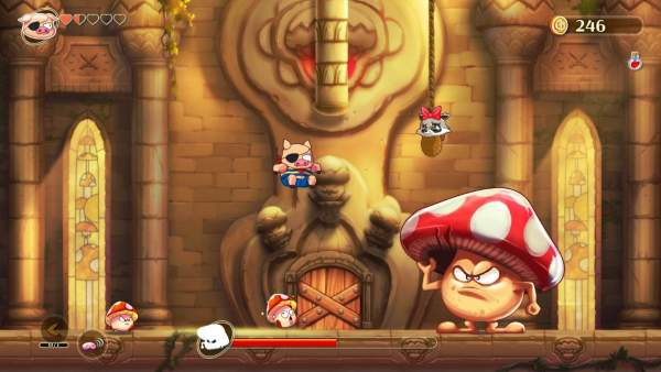 monster boy and the cursed kingdom screenshot 1 600x338 - Đánh giá game Monster Boy and the Cursed Kingdom