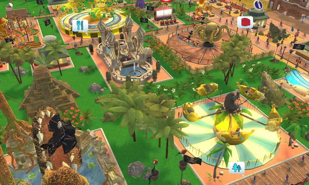 RollerCoaster Tycoon Adventures game review