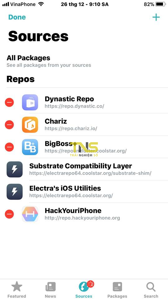 sileo 4 - Trải nghiệm thử Sileo beta - chợ ứng dụng thay thế Cydia
