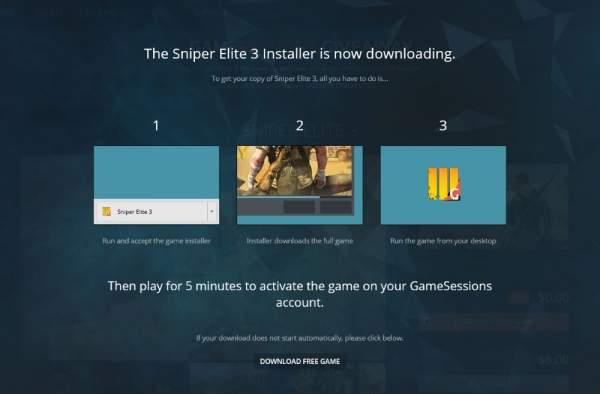 sniper elite 3 free gamesessions 3 600x394 - Đang miễn phí game bắn súng chiến thuật Sniper Elite 3 cực hay