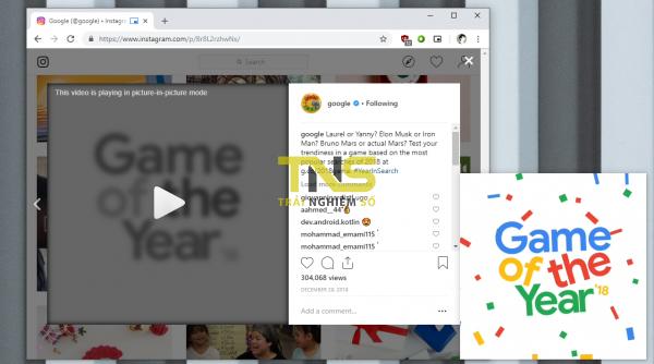 2019 01 11 16 08 05 600x334 - Xem video trong cửa sổ nổi thu nhỏ bằng tiện ích mở rộng của Google