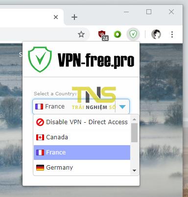 2019 01 17 17 11 41 - 5 tiện ích mở rộng VPN không giới hạn băng thông cho Chrome