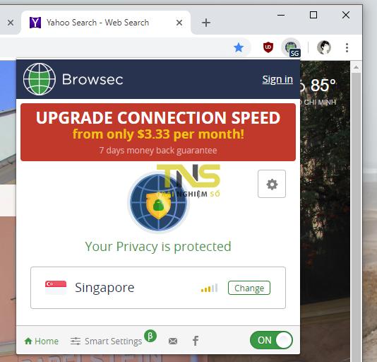 2019 01 17 17 34 56 - 5 tiện ích mở rộng VPN không giới hạn băng thông cho Chrome