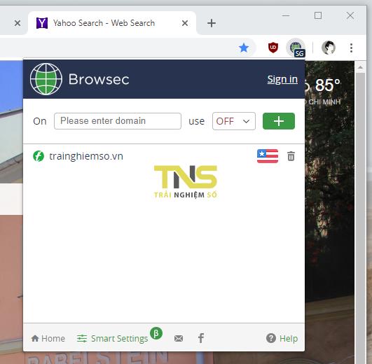 2019 01 17 17 45 58 - 5 tiện ích mở rộng VPN không giới hạn băng thông cho Chrome